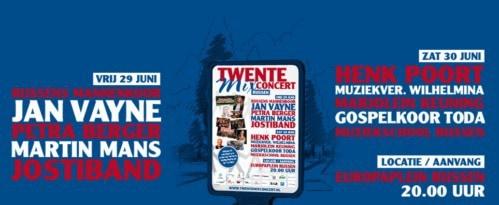 TwenteMix Concert 30 juni met ensembles Muziekschool