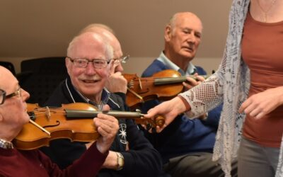 Probus-club bezoekt Muziekschool