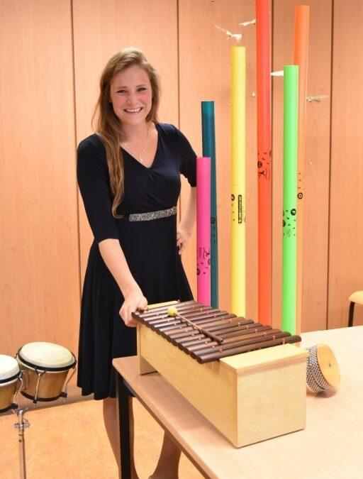 Van leerling naar docent: Gerjanne Dannenberg geeft AMV-lessen aan Muziekschool