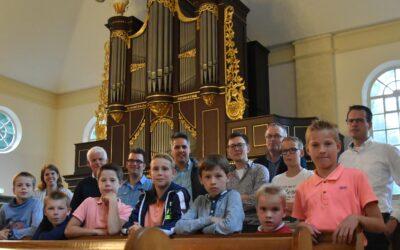 Orgelleerlingen op excursie