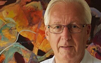 Henk Rohaan exposeert in Muziekschool