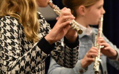 Muzieklessen beginnen 3 september, plaatsing soms nog mogelijk