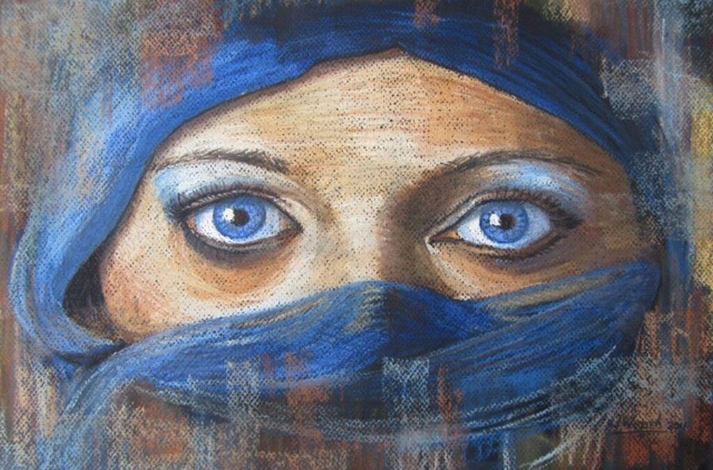 Expositie Jaco Wessels: pastel voor Huntington
