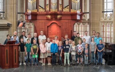 Orgelleerlingen hadden de dag van hun leven in Kampen