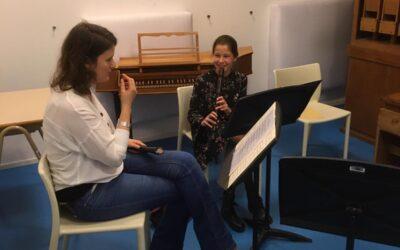 Masterclass in Amsterdam voor Emma