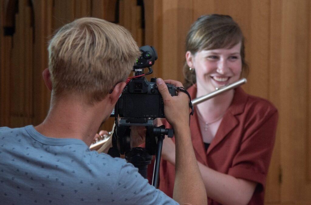 Promotiefilm Muziekschool: the making of….