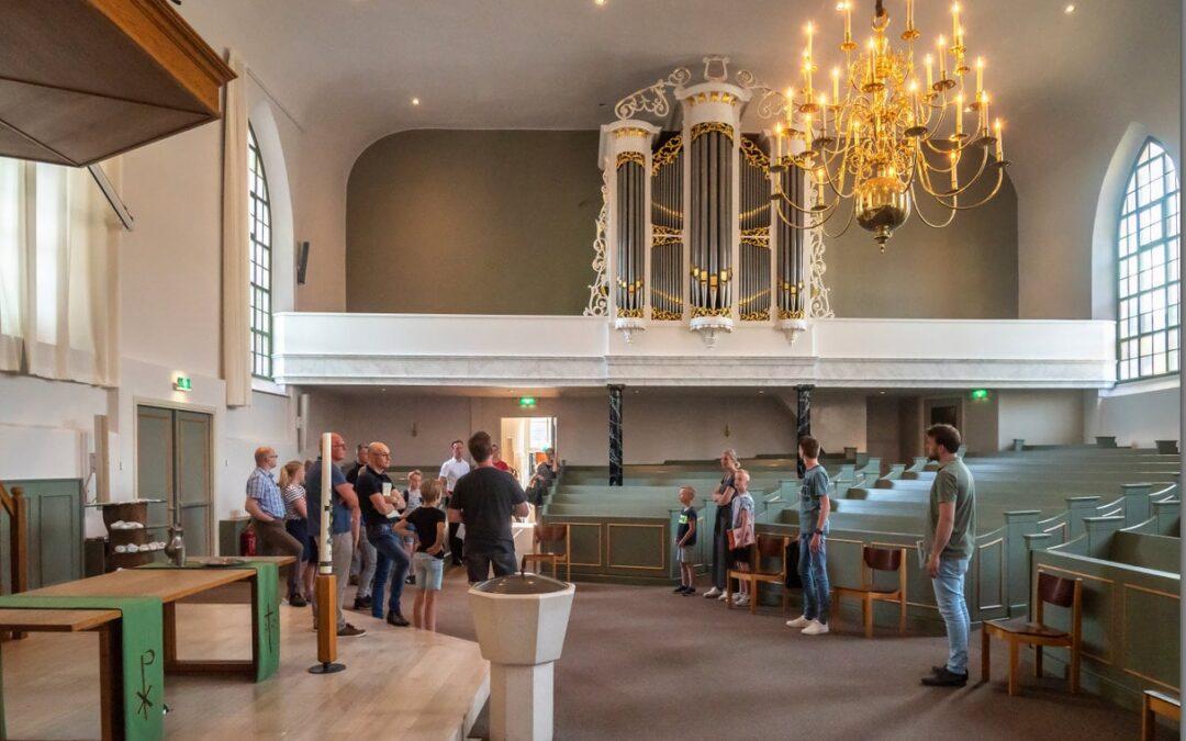 Orgelleerlingen op excursie!
