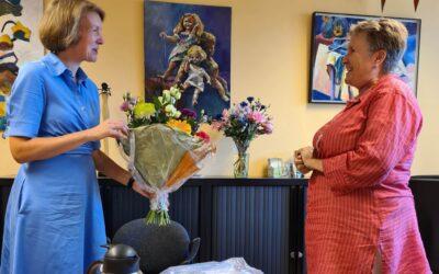 Marion Rohaan 40 jaar in dienst